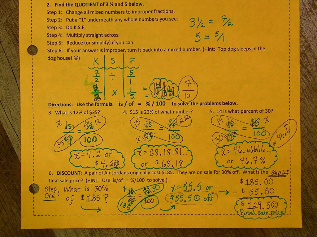 Thanks, Mrs R :) 6th Grade Math Calculating Area Of Trapezoids