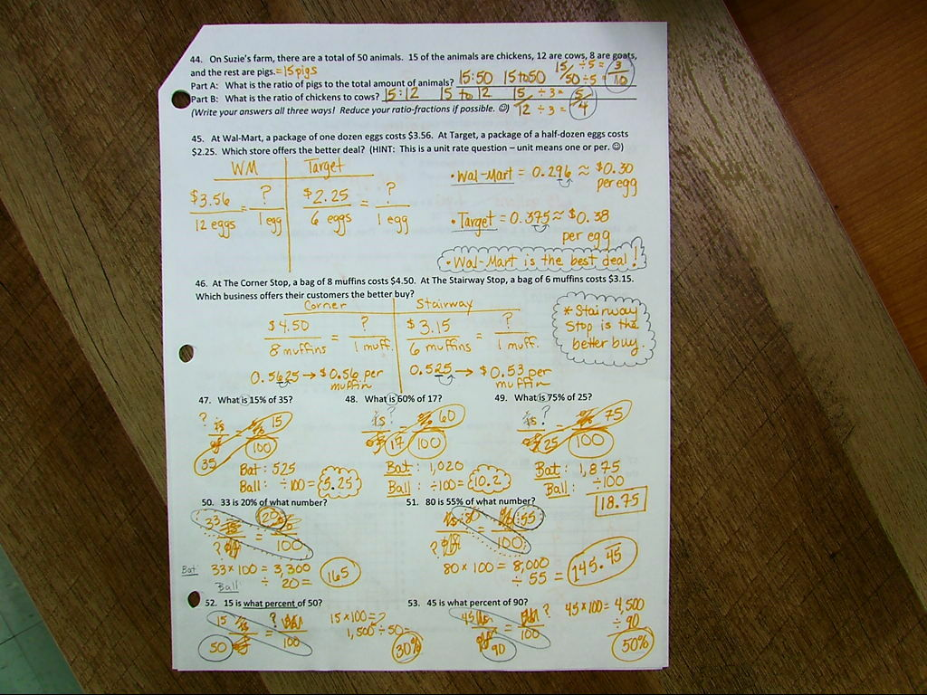 All Math Classespleted The Review Packet This Week That Is Pictured  Below Please Use It To Study With Over The Weekend :)